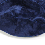 New super soft flannel cap with gypsophila fit 18mm snap button