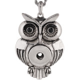 snap Silver  Pendant  fit 20MM snaps style jewelry