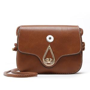 Новая универсальная простая диагональная сумка на одно плечо с пряжкой для ремня Маленькая стереотипная сумка для кусков 18 мм