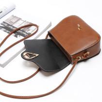 Nouveau sac en diagonale simple à une épaule avec boucle de ceinture, petit sac stéréotypé adapté à des morceaux de 18 mm