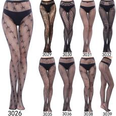 Pantyhose summer fishnet stockings fashion girl sexy pattern jacquard lace hollow retro