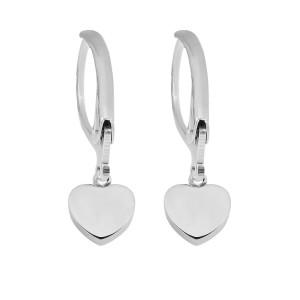 Kleine Accessoire-Ohrringe aus Edelstahl