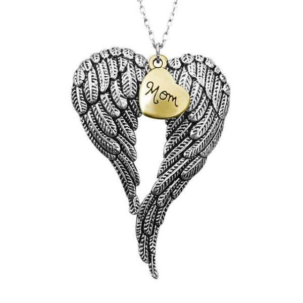 Christmas decoration alloy golden necklace pendant