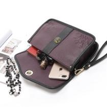 Sac à main pour femme de grande capacité, pochette violette, grande pochette pour morceaux de 18 mm