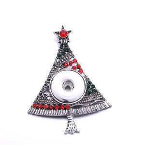 Bijoux de Noël bouton pression DIY Pendentif Argent fit 20MM snaps style bijoux