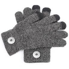 Nouveaux gants de couleur unie, gants de cyclisme d'hiver pour hommes et femmes, gants à écran tactile pour ordinateur, morceaux multicolores de 18 mm