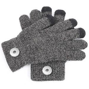 新しい無地の手袋、冬の男性と女性のサイクリンググローブ、コンピュータータッチスクリーングローブ、マルチカラーフィット18mmチャンク