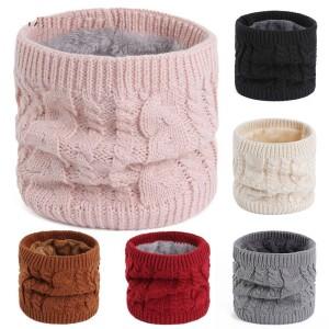 Herbst- und Wintermodelle von Lätzchenwaren, Liebhabermode-All-Match-Lätzchen, Wollgarn zum Warmhalten und samtige reine Farbe