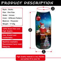 Neue Weihnachtsmaterialsocken Neue 3D-Drucksocken Weihnachtssocken Frauen
