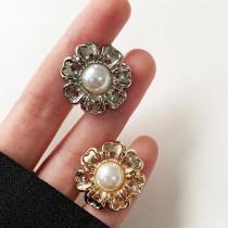 12MM hochwertige Metallperlen vergoldete Snap Charms passen zu 12mm Snap Schmuck