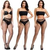 Zweiseitige offene Datei sexy Strümpfe Großhandel sexy hohle Damen sexy kostenlose kleine Netzstrümpfe Strumpfhosen