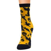 Neue Halloween-Serie Socken, Damen-Mittelrohr, Damensocken, Baumwollsocken, Damen-Cartoon-Socken