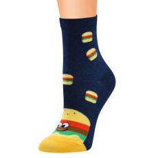 Cartoon dreidimensionale Socken Burger Cola Hühnerbein-Serie Socken in Rohr weibliche Baumwollsocken