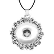 Chaîne de collier de Noël réglable en forme de morceaux de 20 MM s'enclenche collier de bijoux pour femmes