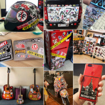 50 Selena Gomez graffiti stickers, personality star DIY skateboard stickers, PVC luggage stickers