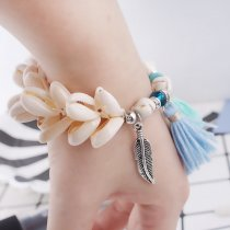 Bohemian Holiday style elastic Bracelet with shells and small components TA7004 new type bracelets fashion Jewelry