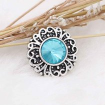 12MM snap Dec.birthstone blue KS6387-S bijoux interchangeables