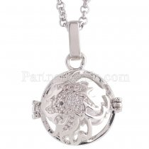 Angel Caller constellation ZODIAC-Leo Necklace fit 16mm balls exclude ball AC3781S
