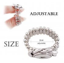 12MM snaps adjustable Ring KS1124-S snaps jewelry
