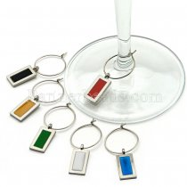 Wine charms silver plated KC0931 fit snaps style 18mm snaps jewelry