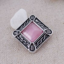 20MM snaps chunks with pink rhinestone interchangeable jewelry
