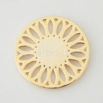 33 mm Alloy Coin fit Locket jewelry type088
