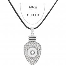 Pendant Necklace with 60CM chain KS1250-S fit 12MM chunks snaps jewelry
