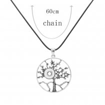 Pendant Necklace with 60CM chain KS1249-S fit 12MM chunks snaps jewelry