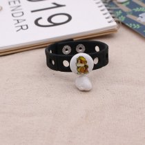 20MM Cartoon Painted enamel metal C5593 print snaps jewelry