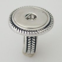 18MM 8 # broches metálicos Anillo en forma Dedos gruesos 17mm