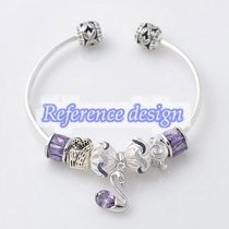partner sterling silver bangle 65mm diameter