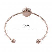 1 buttons snap rose gold bracelet fit 12MM snaps style jewelry KS1184-S
