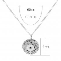 Photographic Pendant Necklace mit 60CM-Kette KC1081 fit 20MM chunks snaps jewelry