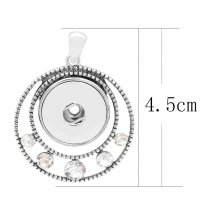 Pendant of necklace without chain KC0454 fit snaps style 18/20mm snaps jewelry