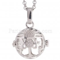 Angel Caller constellation ZODIAC-Libra Necklace fit 16mm balls exclude ball AC3783S