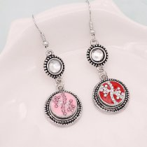 12MM design metal snap with pink rhinestone KS7071-S pink enamel snaps jewelry