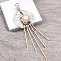 snap sliver Pendant fit 12MM snaps style jewelry KS0379-S