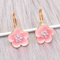 12MM snap Gold Plated Earrings charms KS1304-S snaps jewerly