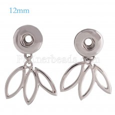 Snaps metal earring KS0997-S fit 12mm chunks snaps jewelry