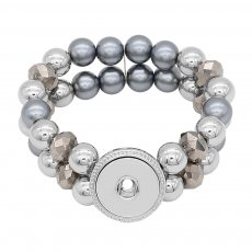 1 buttons With  Adjustable snap  bracelet fit snaps jewelry KC0855