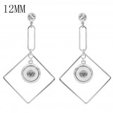 snap Earrings fit 12MM snaps style jewelry KS1280-S