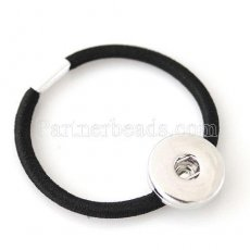 hair accessories with one button Fit 18/20mm Chunks