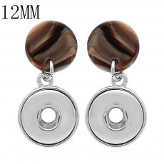 snap earring fit 12MM snaps style jewelry KS1243-S