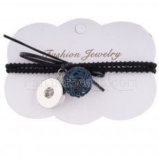 hair accessories with one button and pendants Fit 18/20mm Chunks