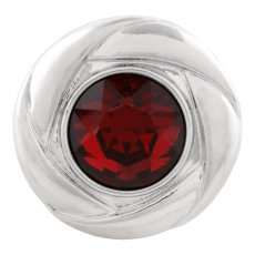 20MM snap Jan. Birthstone Dark KC5676 rouge foncé bijoux interchangeables