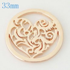 33 mm Alloy Coin fit Locket jewelry type040