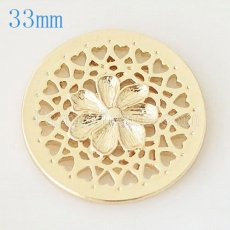 33 mm Alloy Coin fit Locket jewelry type017