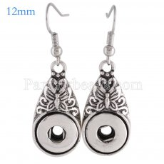 Snaps metal earring KS0991-S fit 12mm chunks snaps jewelry