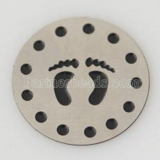 22mm Stainless steel Floating plate fit 30mm lockets