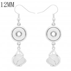 snap Earrings fit 12MM snaps style jewelry KS1262-S